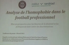 "Professional football in France is riven with homophobia, especially among young players going through training, according to a study published by a Paris rights group. The report produced by ""Paris Gay Football"" concludes that football is even more homophobic than average for the sports world."