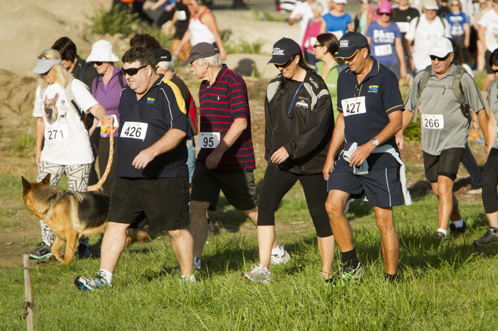 Participants pictured during the Country to Coast, fun run/walk from Clive to Clifton Bay Cafe.