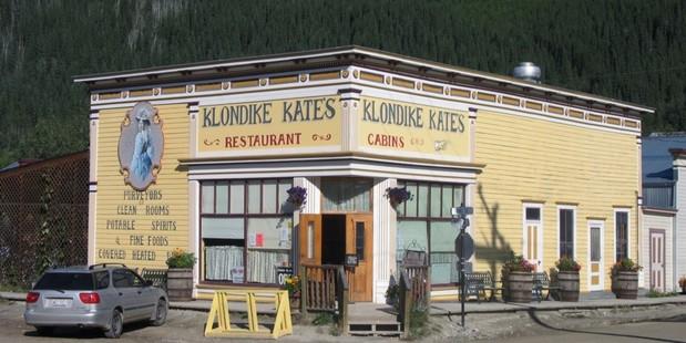 Dawson City's Klondike Kate. Photo / Paul Rush