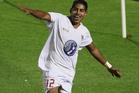 Waitakere United striker Roy Krishna. Photo / Getty Images,