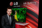 LG introduces curved high def TV