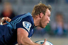 Luke Braid is playing a leading role in the Blues' resurgence but has not been required by the All Blacks. Photo / Brett Phibbs