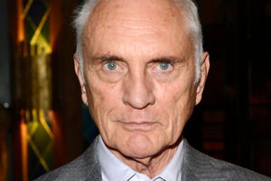 Terence Stamp never thought of himself as good-looking but says in movies like Far From the Madding Crowd, with Julie Christie he was 'enhanced by film'. Photo / AP