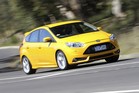The Ford Focus ST uses the same EcoBoost engine as the Falcon.  Photo / Supplied