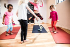 Yoga for kids helps exercise their imaginations too. Photo / Supplied