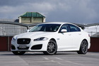 The Jaguar XFR. Photo / David Linklater