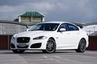 The Jaguar XFR. Photo / David Linklater