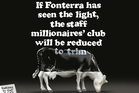 Fonterra to cut 300 corporate jobs - will there still be the private millionaires' club on staff? Image / Rod Emmerson