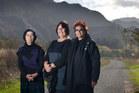 Parekura Horomia's relatives (from left) Titihuia Maurirere-Kutia, Josie Keelan and Essie Keelan say he valued community. Photo / Alan Gibson