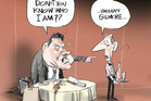 Aaron Gilmore drunken fiasco causes headache for National. Image / Rod Emmerson