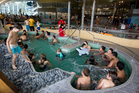 Entry to the West Wave Aquatic Centre in Henderson is free - creating a high demand for facilities. Photo / Sarah Ivey