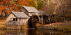 Mabry Mill is one of the attractions to be found on the scenic road, completed in 1987. Photo / Getty Images