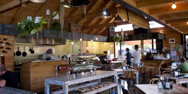 The Piha Cafe. Photo / Sarah Ivey