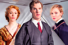 Parade's End stars Rebecca Hall, Benedict Cumberbatch, and Adelaide Clemens. Photo / Supplied