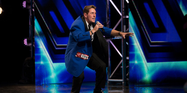 Tony Wildermouth hoped to take big strides in The X Factor NZ contest. Photo / Supplied