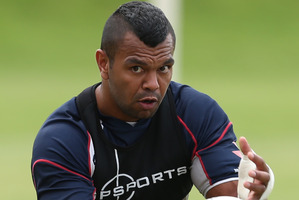 Kurtley Beale has missed six matches. Photo / Getty Images