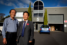 Henry Lee (left) and Stanley Park look forward to using their new Korean Community Centre, to be opened in Hillcrest tomorrow. Photo / Sarah Ivey