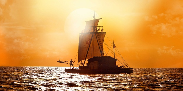 Still from the film 'Kon-Tiki'. Photo / Supplied