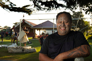 Wayne Ngata says the exact scale of the event was hard to gauge but the hosts are unfazed. Photo / Alan Gibson