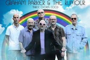 Album cover of Three Chords Good by Graham Parker and the Rumour. Photo / Supplied
