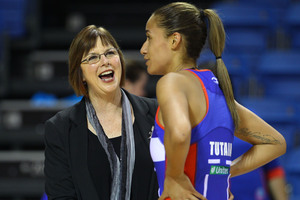 Ruth Aitken and Maria Tutaia are still working through their coach-captain relationship. Photo / Photosport
