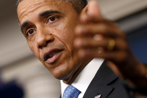 "Allegations the regime used chemical weapons have not triggered a strong response despite Barack Obama's claim it would be a ""red line"". Photo / AP"