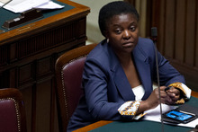 Integration Minister Cecile Kyenge. Photo / AP
