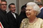 Queen faces being dragged into a human rights dispute. Photo / AP