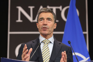NATO Secretary General Anders Fogh Rasmussen. Photo / AP