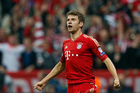 Thomas Muller is seen as Bayern's Lionel Messi as German clubs show their mettle in the Champions League. Photo / AP