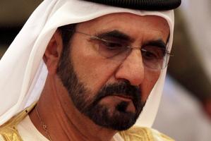 Mohammed bin Rashid al Maktoum. Photo / AP