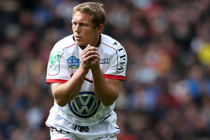 Jonny Wilkinson may yet be kicking for the Lions. Photo / AP