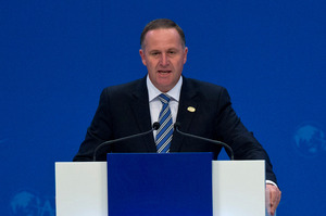 The conference will open this morning with a speech from Prime Minister John Key. Photo / AP