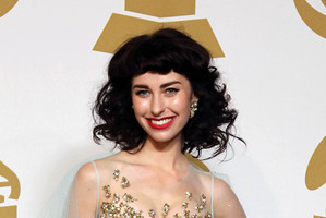 Kimbra and Five Mile Town singer Louis McDonald both won awards in the annual International Songwriting Competition. Photo / AP