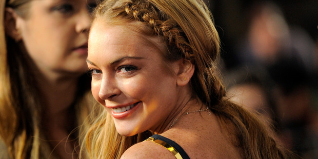 Lindsay Lohan has reported refused to enter into rehab. Photo / AP