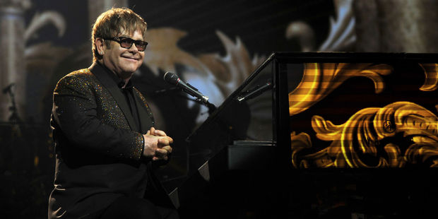 Elton John says his fued with Madonna is over. Photo / Supplied