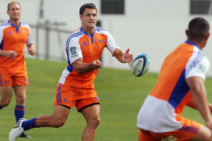 Dan Carter is returning to the Crusaders' starting line-up against the Brumbies.  Photo / File