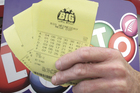 The winning ticket was bought from Blockbuster Dannevirke. Photo / Paul Taylor