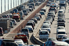 Congestion on the Auckland Harbour Bridge. Photo / Brett Phibbs