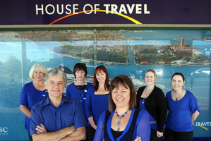 House of Travel's commercial director Brent Thomas said his company welcomed the move. Photo / Andrew Warner