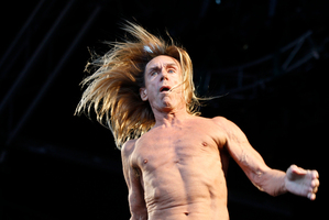 Iggy and the Stooges. Photo / NZ Herald