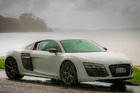 Audi R8 V10 Plus DRIVEN USE ONLY 23 April 2013 New Zealand Herald Photograph by Ted Baghurst NZH 27Apr13 -