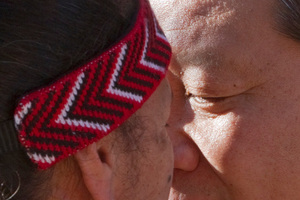 Chinese President Xi Jinping shares a hongi on his visit to New Zealand in 2010. Photo / NZPA