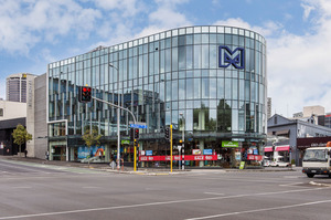 The former Mainzeal headquarters in Auckland. Photo / Supplied