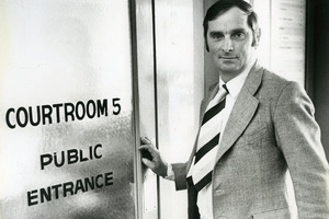 Arthur Allan Thomas was pardoned in 1979 after nine years in jail. Photo / NZ Herald