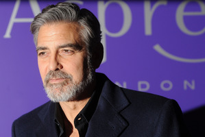 George Clooney has just the right amount of facial hair.Photo / Getty