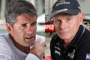 Sir Russell Coutts and Grant Dalton. Photos / NZ Herald