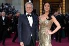 Michael Douglas and Catherine Zeta-Jones at the Oscars. Photo/AP