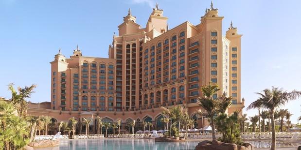 Welcome to Atlantis the Palm, Dubai. Photo / Supplied