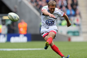 Jonny Wilkinson kicked all of Toulon's 24 points. Photo / Getty Images